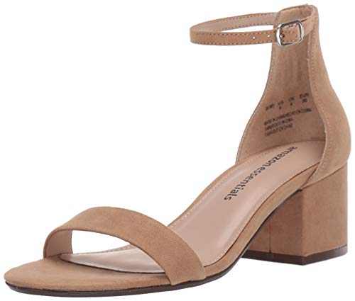 From USA Amazon Essentials Women's Two Strap Heeled Sandal