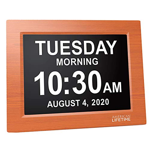 (FROM USA) American Lifetime, Newest Version, Day Clock Extra Large Impaired V