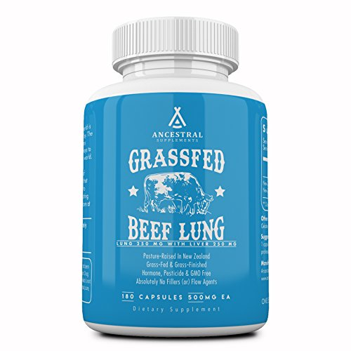 (FROM USA) Ancestral Supplements Beef Lung (with Liver) — Supports Lung, Res