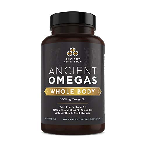 (FROM USA) Ancient Nutrition Ancient Omegas Whole Body - ALA, DHA, EPA, ETA fr