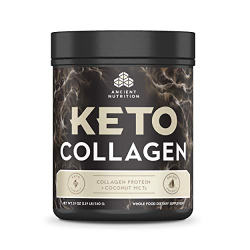 (FROM USA) Ancient Nutrition KetoCOLLAGEN Powder, Keto Diet Supplement, Types