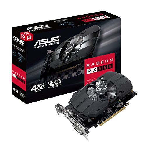 [From USA]ASUS PH-RX550-4G-M7 889349963289 Graphic Cards