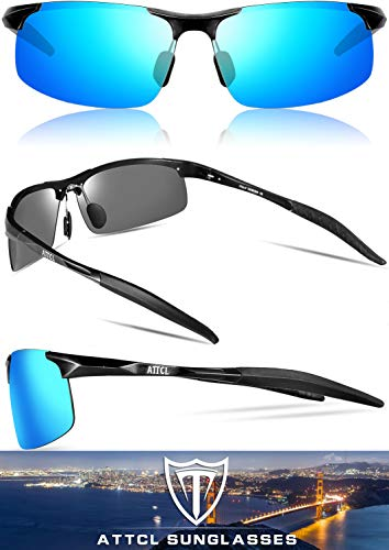 From USA ATTCL Men's HOT Fashion Driving Polarized Sunglasses for Men Al-Mg me