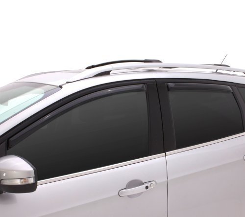 From USA Auto Ventshade 194309 In-Channel Ventvisor Side Window Deflector, 4-P