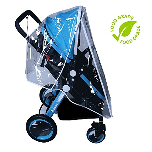 [From USA]Baby Stroller Rain Cover Weather Shield Accessories Universal Size P