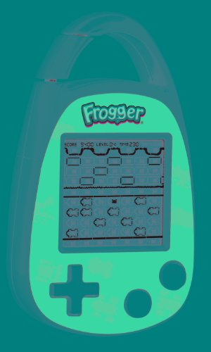 [From USA]Basic Fun Frogger Electronic Carabiner.
