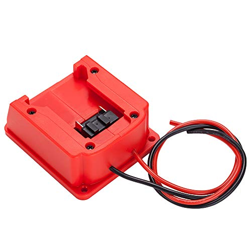 From USA Battery Adapter for Milwaukee M18 Battery 18v Dock Power Connector 14
