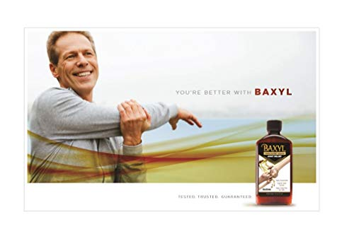 (FROM USA) Baxyl- Liquid Hyaluronic Acid for Joint Relief Supplement (Vegan, G