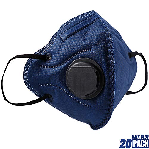 Particulate bc Respirator Pack N95 20 Mask Disposable Dust usa