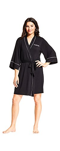 (FROM USA) bebe Womens Shortie Pajama Lounge Robe Bathrobe