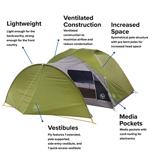From USA Big Agnes Blacktail  & Blacktail Hotel Backpacking  & Camping Tents