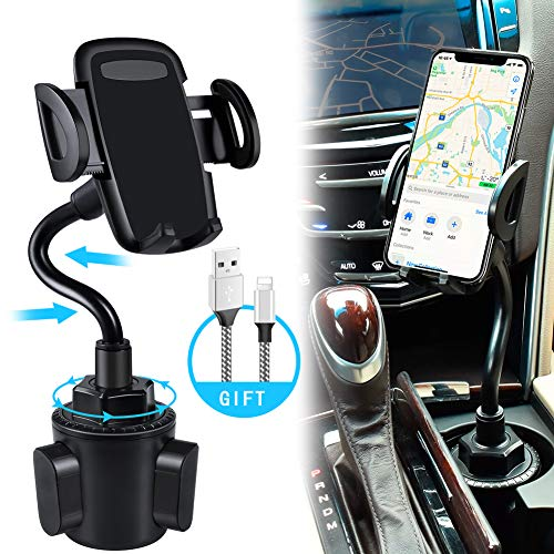 ..../ From USA/ bokilino Car Cup Holder Phone Mount, Universal Adjustable Goos