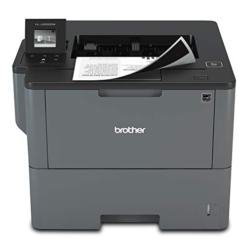 From USA Brother Monochrome Laser Printer, HL-L6300DW, Wireless Networking, Mo