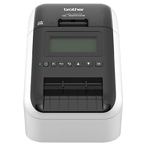 From USA Brother QL-820NWB Professional, Ultra Flexible Label Printer with Mul