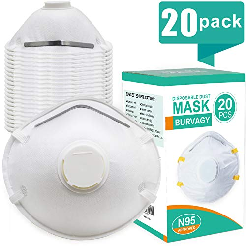 usa Face Masks burvagy Respirator N95 Certified-dust Mask Niosh Disp