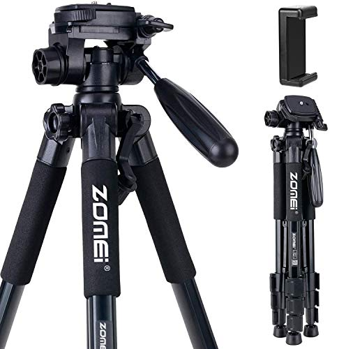 From USA Camera and Phone Tripod 55-inch Q111 Tripod Stand Protable Light Weig