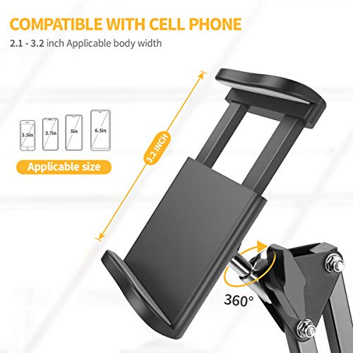 From USA Cell Phone Holder, Phone Clip Holder Clamp for Desk,Universal Phone S