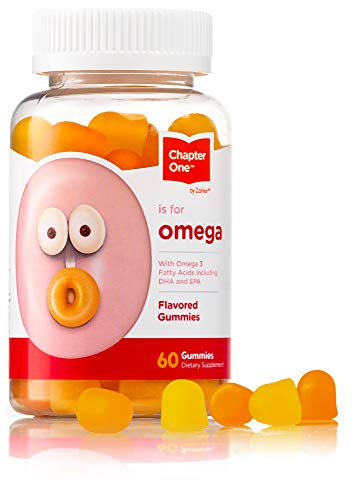 [From USA] Chapter One Omega 3 Gummies Chewable Omega Gummies with DHA  &