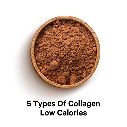 (FROM USA) Codeage Multi Collagen Peptides Protein Powder, Chocolate Cocoa Sha