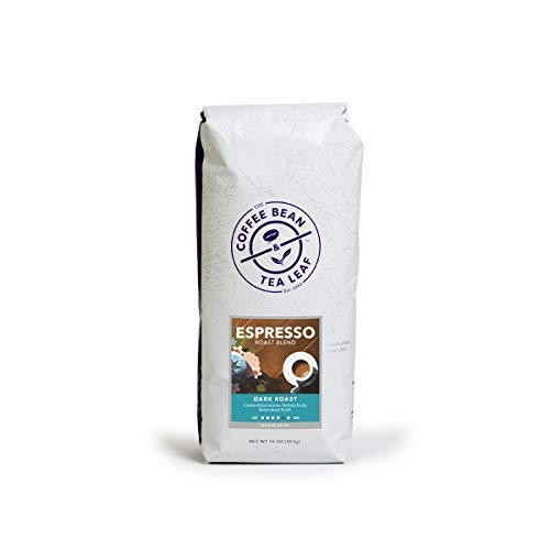 (FROM USA) Coffee Bean  & Tea Leaf Espresso Roast Dark Blend - Whole Bean - 1-