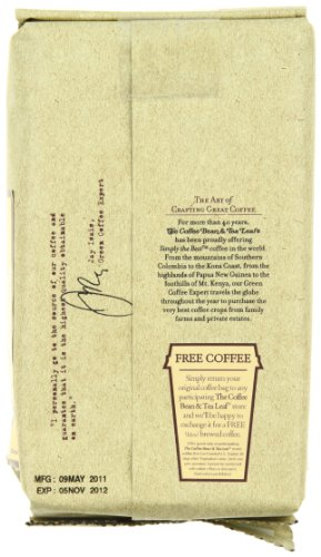 (FROM USA) The Coffee Bean  & Tea Leaf Hand-Roasted Guatemala Organic Ground C