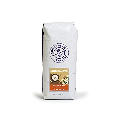 (FROM USA) The Coffee Bean  & Tea Leaf Mocha Java Medium Roast Whole Bean Coff