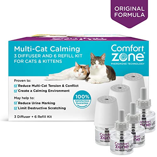[From USA]Comfort Zone MultiCat Diffuser Kit for Cat Calming