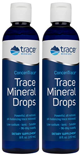 (FROM USA) Concentrace Trace Mineral Drops. Magnesium, Chloride, Potassium. Io
