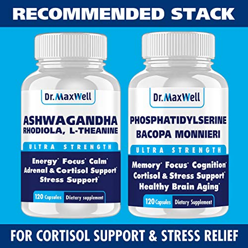 (FROM USA) Cortisol Manager - Adrenal Support - Thyroid Support. Clinically Pr