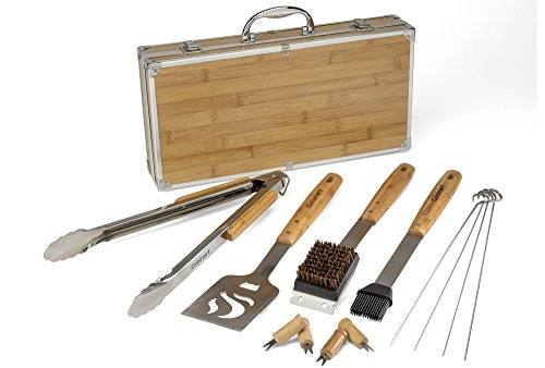 (FROM USA) Cuisinart CGS-7014 Bamboo Tool Set, 13-Piece