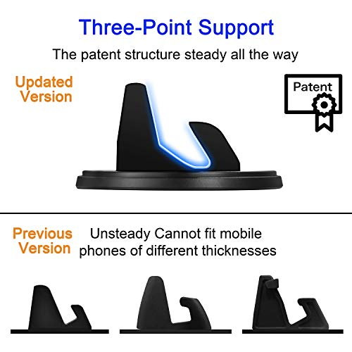 ..../ From USA/ Dashboard Cell Phone Holder,SRUNP Car Phone Mount[Vertical Hor