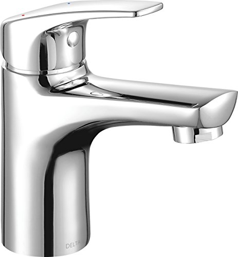 [From USA]Delta Faucet Modern Single-Handle Bathroom Faucet with Drain Assembl