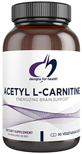 (FROM USA) Designs for Health Acetyl L-Carnitine Capsules 800mg - Extra Streng