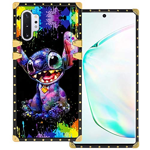 [From USA]DISNEY COLLECTION Samsung Galaxy Note 10+ 5G Square Case Stitch Luxu