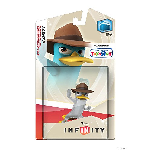 From USA Disney Infinity Agent P Figurine, Clear Toys R Us Exclusive