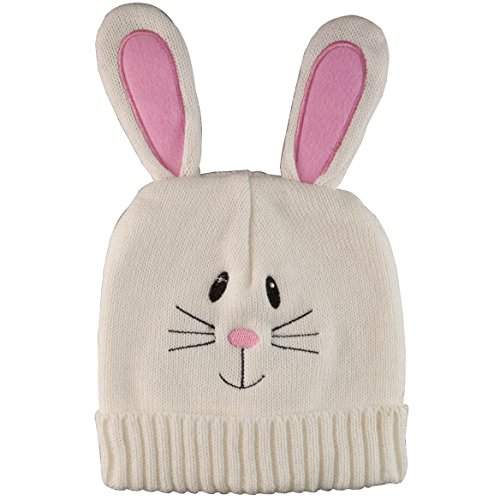 [From USA]DM Merchandising Knitted Easter Bunny Hat Children's Beanies Pink an