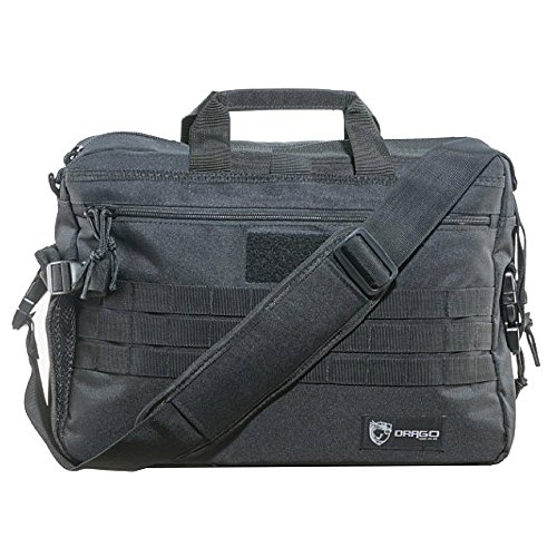 (FROM USA) Drago Gear Side Pack Tactical Laptop Briefcase Black BLACK OPS, DRA