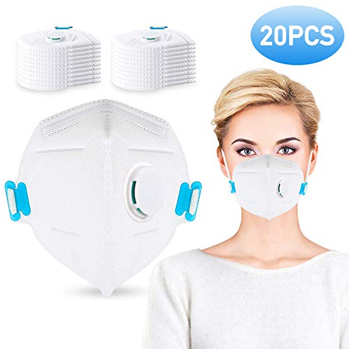 Disposable usa dust Mask N95 white Face 20 Respirator