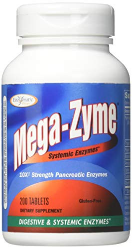 [From USA] Enzymatic Therapy Mega-zyme 200 Tablets.