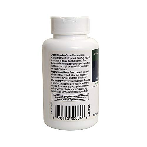 (FROM USA) ENZYME SCIENCE Critical Digestion 90 CT