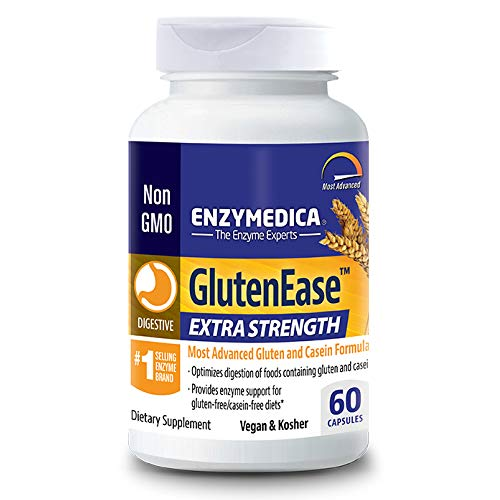 (FROM USA) Enzymedica, GlutenEase Extra Strength, Digestive Aid for Gluten and
