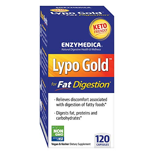 (FROM USA) Enzymedica, Lypo Gold, Keto Supplement to Support Fat Digestion, Ve