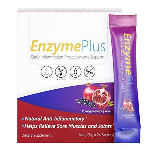 (FROM USA) EnzymePlus - Vitamin C + Amino Acids + Digestive Enzymes, Natural A