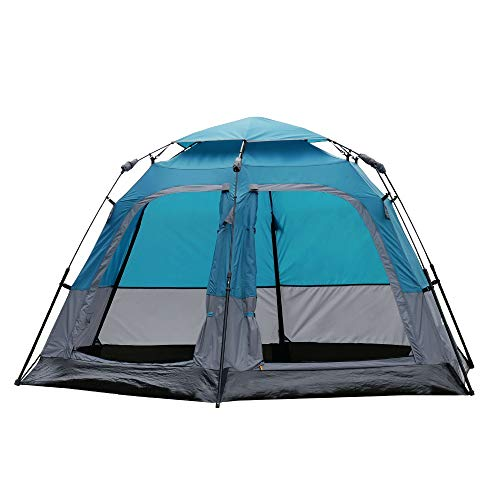 From USA FASTCAMP Tribeca 5-Person pop up Automatic Tent,Camping Tent,Double m