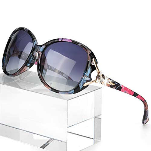 From USA FIMILU Classic Oversized Sunglasses for Women Polarized 100% UV400 Pr