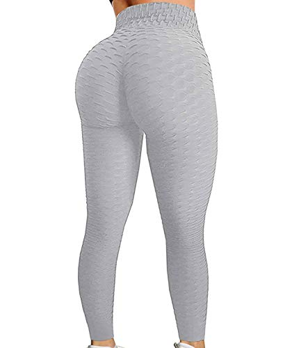 (FROM USA) FITTOO Womens High Waisted Yoga Pants Tummy Control Scrunched Booty