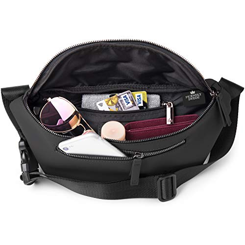 (FROM USA) The Friendly Swede Fanny Pack for Men and Women - Fashion Crossbody