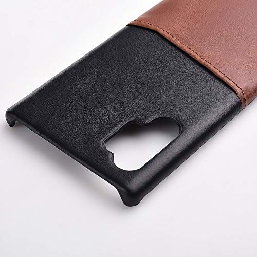 [From USA]Galaxy Note 10 Case Genuine Leather Card Holder Slot Wallet Case Cov