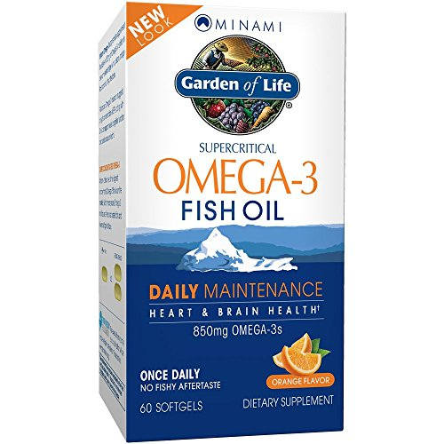 (FROM USA) Garden of Life EPA/DHA Omega 3 Fish Oil - Minami Natural