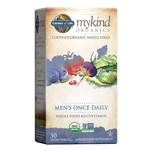 (FROM USA) Garden of Life Multivitamin for Men - mykind Organic Men's Once Dai